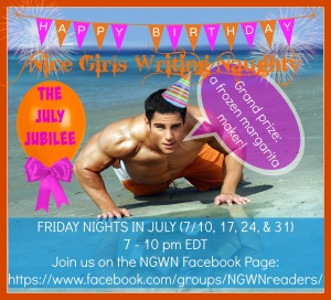 July Jubilee, anniversary, reader party, games, prizes